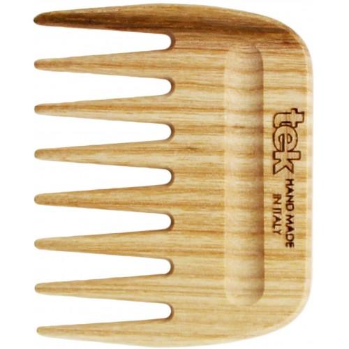 Pettine afro in legno di frassino