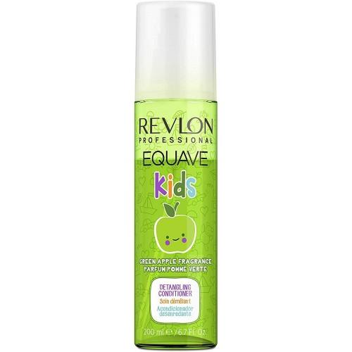 Revlon EQUAVE KIDS Green Apple Hypoallergenic Detangling Conditioner 200ml