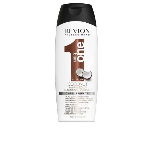 Revlon UNIQ ONE Coconut 10 in 1 Conditioning Shampoo 300ml